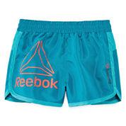 Reebok Pull-On Shorts Preschool Girls