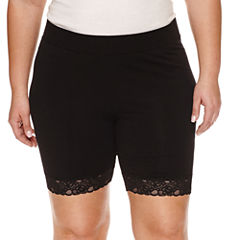 Ashley Nell Tipton for Boutique + Jersey Soft Shorts-Plus
