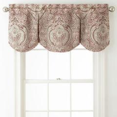 royal velvet valances curtains & drapes for window - jcpenney