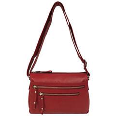east 5th Leather Front Pocket Shoulder Bag