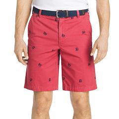 IZOD Schiffli Printed Shorts