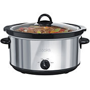 Cooks 6-qt. Stainless Steel Slow Cooker