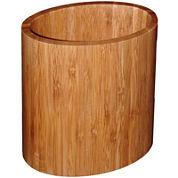 Totally Bamboo® Oval Utensil Holder