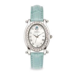 Croton Womens Blue Strap Watch-Cn207537tomp