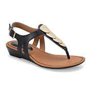 Eurosoft Mika Womens Wedge Sandals