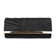 Gunne Sax® by Jessica McClintock Addison Tuck Pleat Flap Clutch