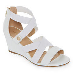Liz Claiborne Rhodes Womens Wedge