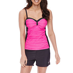 Free Country® Solid Tankini Swimsuit Top or Drawstring Swim Shorts