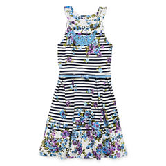 Knit Works Sleeveless Dress Set - Big Kid Girls Plus