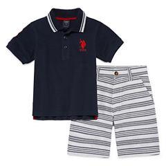 U.S. Polo Assn. 2-pc. Short Set Boys