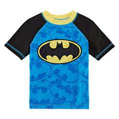 Boys Batman Rash Guard-Toddler