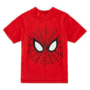 Boys Marvel Rash Guard-Toddler