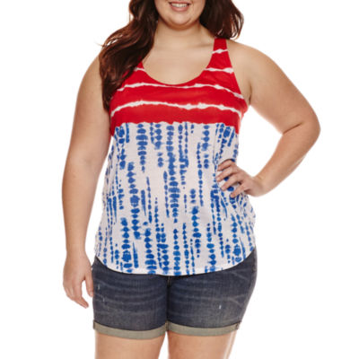 Plus size 4th of july dress
