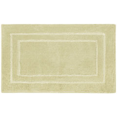 Laura Ashley™ Pearl Double Border Bath Rug Collection