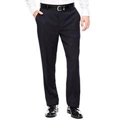 Stafford® Travel Super Flat-Front Dress Pants - Classic Fit