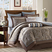 Madison Park Whitman 12-pc. Complete Bedding Set with Sheets