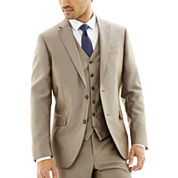 JF J. Ferrar® Slim-Fit Luster Herringbone Suit Jacket