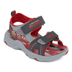 Disney® Cars Boys Strap Sandal - Toddler
