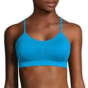 Xersion Medium Support Plunge Sports Bra