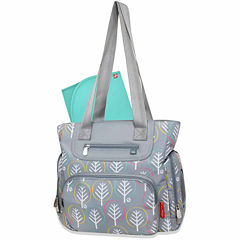 Fisher Price Willow Print Tote Diaper Bag