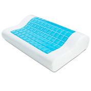 ModernHome Gel Overlay Contour Memory Foam Pillow