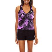 Zeroxposur® Palmetto Sunray Tankini Swim Top, Swim Bottoms or Swim Cover-Up