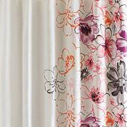 Intelligent Design Cassidy Printed Shower Curtain