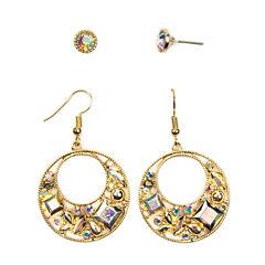 Arizona 4-pc. Brown Earring Sets
