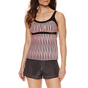 ZeroXposur® Stripe Tankini or Board Short