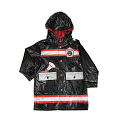 Wippete Fire Fighter Boys Raincoat-Toddler