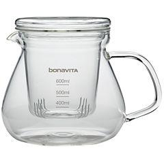 Bonavita Glass Tea Brewer, 600ml