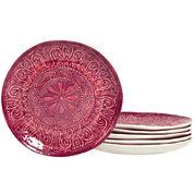 Tabletops Gallery® Castleware Set of 6 Melamine Salad Plates