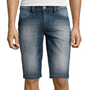 i jeans by Buffalo Slim-Fit Denim Shorts
