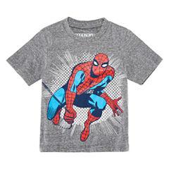 Spiderman Graphic T-Shirt-Toddler Boys