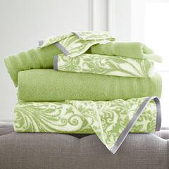 Pacific Coast Textiles Filigree Swirl 6-pc. Bath Towel Set