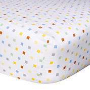Trend Lab® Mini Squares Fitted Crib Sheet
