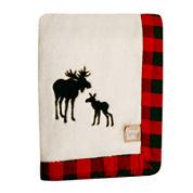 Trend Lab® Moose Receiving Blanket