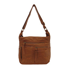 St. John's Bay Washed Convertible Shoulder Bag