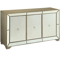 Bombay Monterey Mirrored Console Table