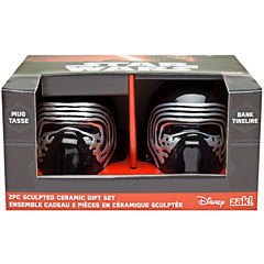 Disney Star Wars® Kylo Ren Sculpted Bank and Mug Set