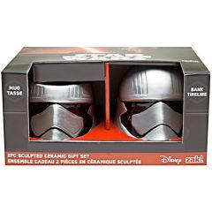 Disney Star Wars® Captain Phasma Sculpted Bank and Mug Set