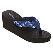 Mixit™ Yoga Mat Wedge Thong Sandals