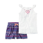 Carter's 2-pc. Short Set Toddler Girls