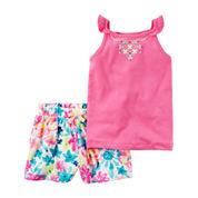 Carter's 2-pc. Short Set-Preschool Girls