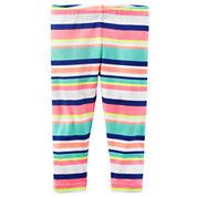 Carter's Stripe Knit Leggings - Preschool Girls