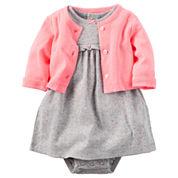 Carter's Long Sleeve Dress Set - Baby