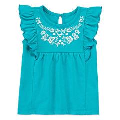 Arizona Cap Sleeve Tunic Top - Baby Girls