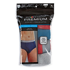 Fruit of the Loom® 4-pk. Premium Cotton Briefs
