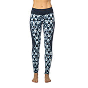 PL Movement By Pink Lotus Tie Dye Knit Leggings