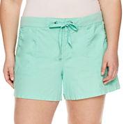 a.n.a Cotton Soft Shorts-Plus